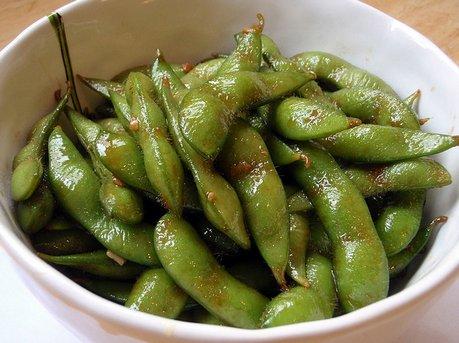 Wok Fried Edamame Beans